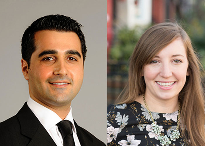 Two Mason alumni chosen for '40 Under 40' list