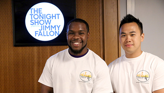 Alumni appear on The Tonight Show