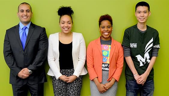 Honoring Future Alumni: 2015 GMUAA Scholarship Recipients