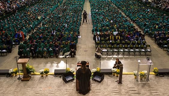 Mason graduates 7,695 at Spring Commencement