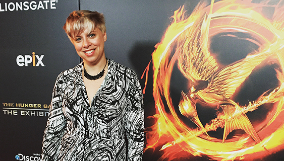 Alumna Creative Director of New York's Hunger Games exhibit