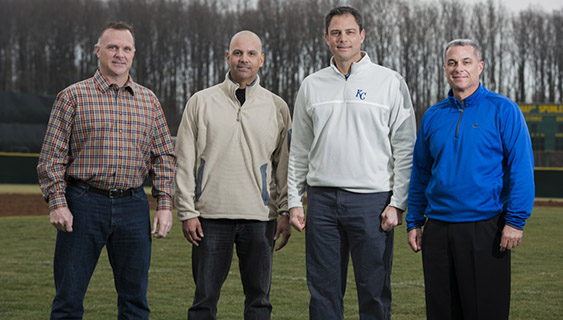 Four Alumni Part of Royals' World Series Win
