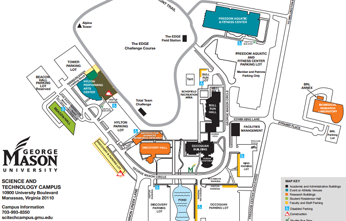 George Mason University Alumni   Campus Maps | Directions