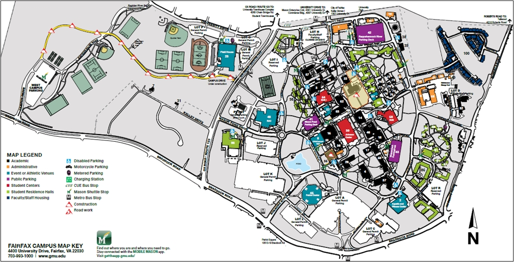 Gmu Campus Map George Mason University Alumni   The Science of Beer Gmu Campus Map